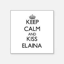 Keep Calm and kiss Elaina Sticker