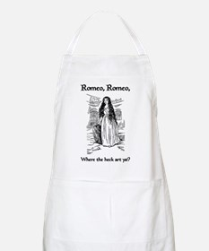 Romeo, Where the Heck Art Ya? BBQ Apron
