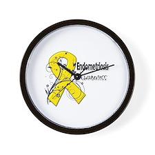 Endometriosis Awareness Wall Clock