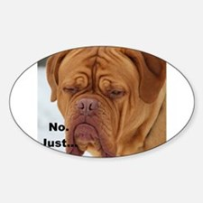 Dour Dogue No. Decal