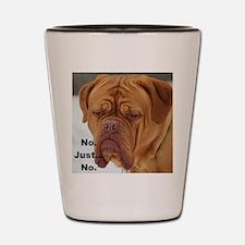 Dour Dogue No. Shot Glass