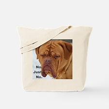 Dour Dogue No. Tote Bag
