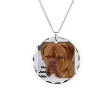 Dour Dogue No. Necklace