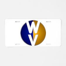 Circle Void WV Aluminum License Plate