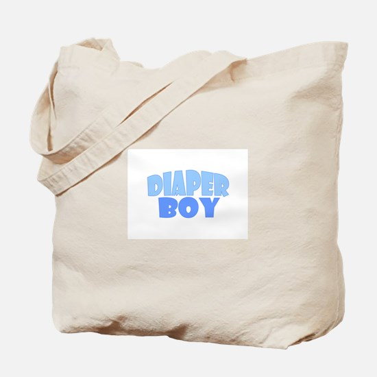 Diaper Boy Tote Bag