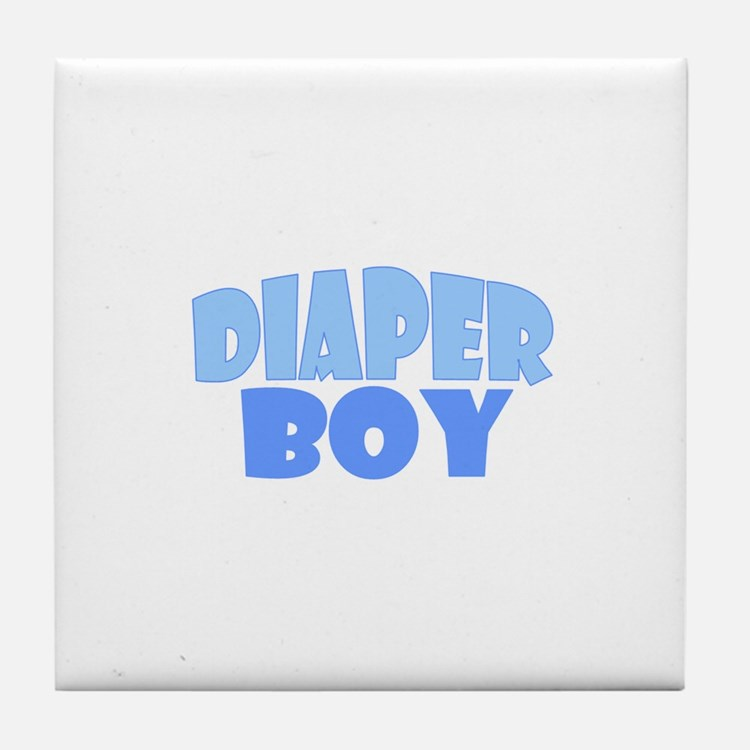 Diaper Boy Tile Coaster