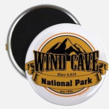wind cave 4 Magnets