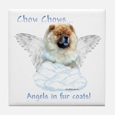 Chow Angel Tile Coaster
