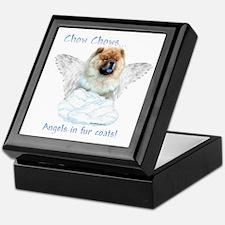 Chow Angel Keepsake Box