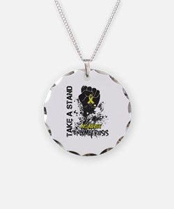 Endometriosis Take a Stand Necklace
