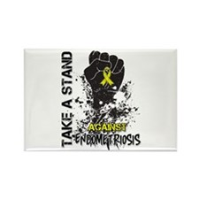 Endometriosis Take a Stand Rectangle Magnet