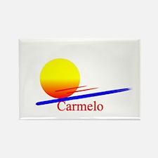 Carmelo Rectangle Magnet