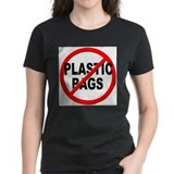 Anti plastic Women's Dark T-Shirt