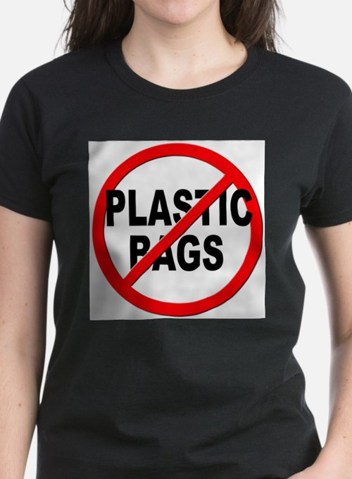 Anti / No Plastic Bags T-Shirt
