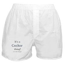 Cocker Thing Boxer Shorts