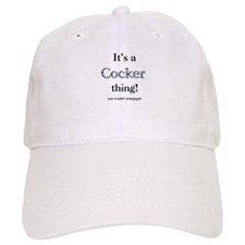 Cocker Thing Baseball Cap