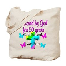 REJOICING 50TH Tote Bag