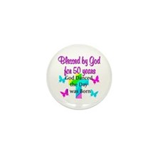 REJOICING 50TH Mini Button (10 pack)