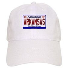 Arkansas License Plate (Arkan Baseball Cap