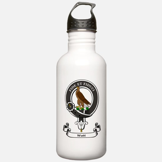 Badge-Watt Sports Water Bottle
