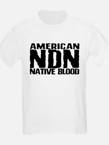 American NDN Native Blood T-Shirt