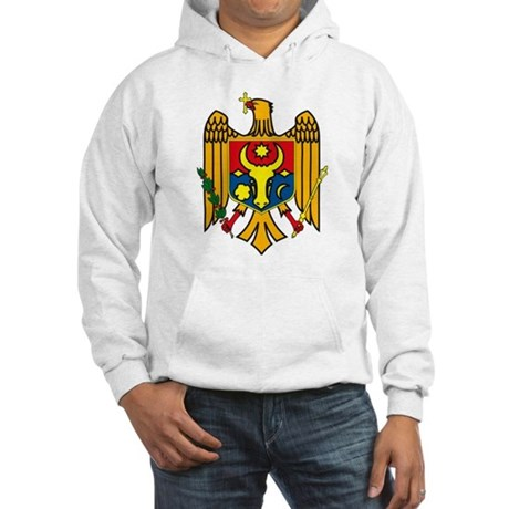 Moldova Coat of Arms Hooded Sweatshirt