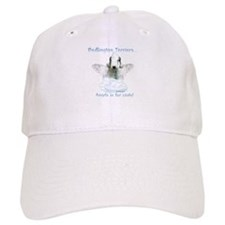 Bedlington Angel Baseball Cap