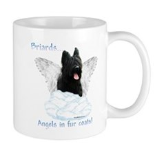 Briard Angel Coffee Mug