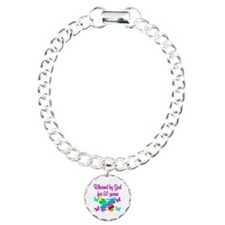 DELIGHTFUL 50TH Charm Bracelet, One Charm