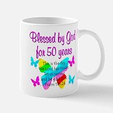 DELIGHTFUL 50TH Mug