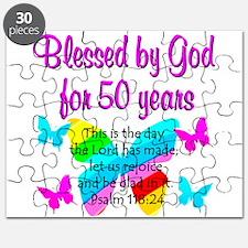 DELIGHTFUL 50TH Puzzle