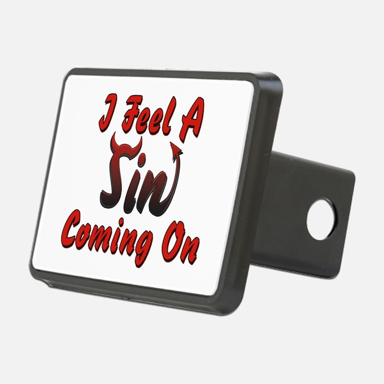 I Feel A Sin Coming On Hitch Cover