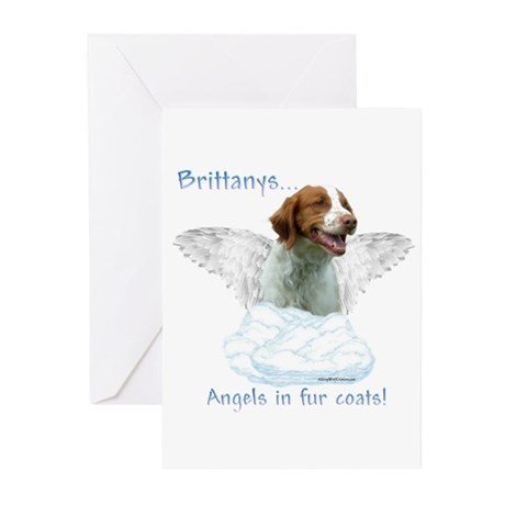 Brittany Angel Greeting Cards (Pk of 10)