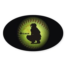iCatch Fastpitch Softball Decal
