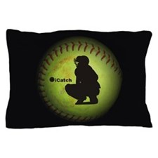 iCatch Fastpitch Softball Pillow Case
