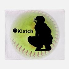 iCatch Fastpitch Softball Throw Blanket