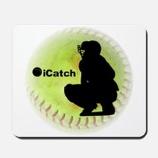 iCatch Fastpitch Softball Mousepad