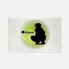 iCatch Fastpitch Softball Rectangle Magnet