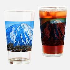 Mount Ngauruhoe  Drinking Glass