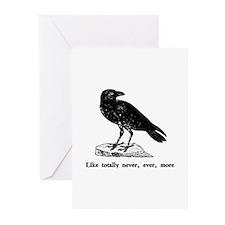 Like totally never, ever, mor Greeting Cards (Pack