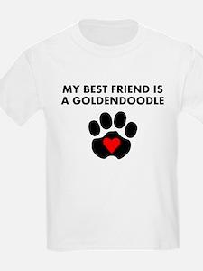 My Best Friend Is A Goldendoodle T-Shirt