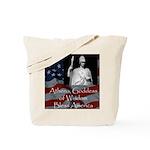 Athena Bless America Tote Bag