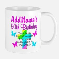 GOD LOVING 50TH Mug
