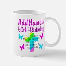 GOD LOVING 50TH Small Small Mug