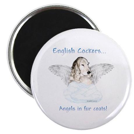 Eng Cocker Angel Magnet