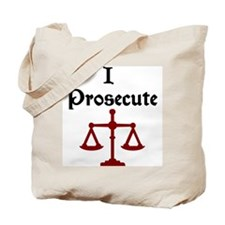 Prosecution Attorney Lawyer Tote Bag