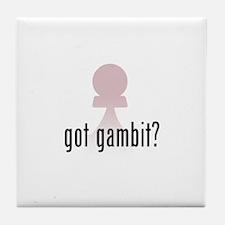 Got Gambit? Tile Coaster