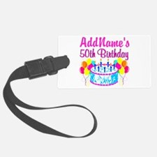 50TH PARTY Luggage Tag