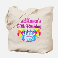 50TH PARTY Tote Bag