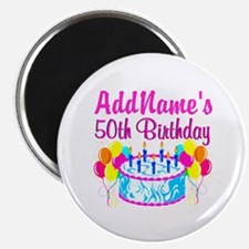 50TH PARTY Magnet